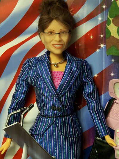 Sarah Palin Baribe Doll on Ebay