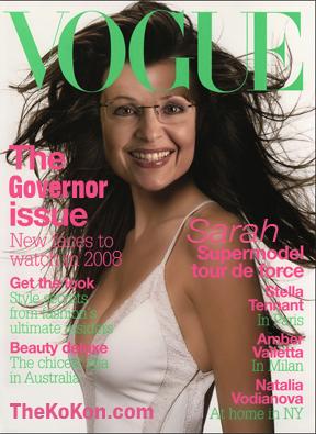 Sarah Palin in Vogue Magazine
