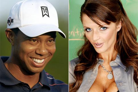 Tiger Woods Joslyn James