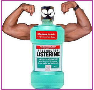 Listerine kills mosquitoes