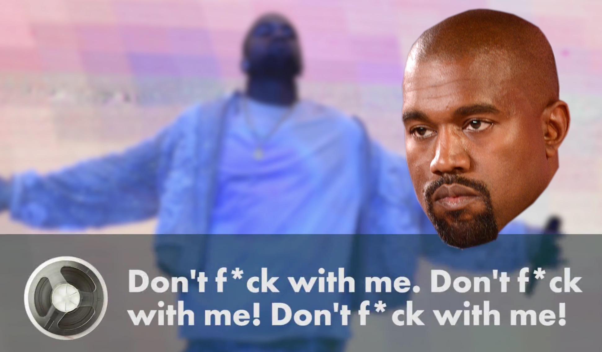 Kanye Meltdown