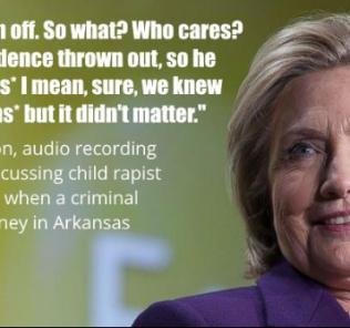 Hillary Clinton Rape meme