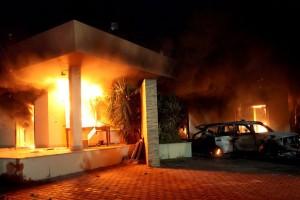 Benghazi consulate burning