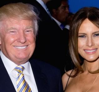 Melania and Donad Trump