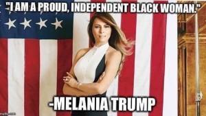 Melania Trump meme