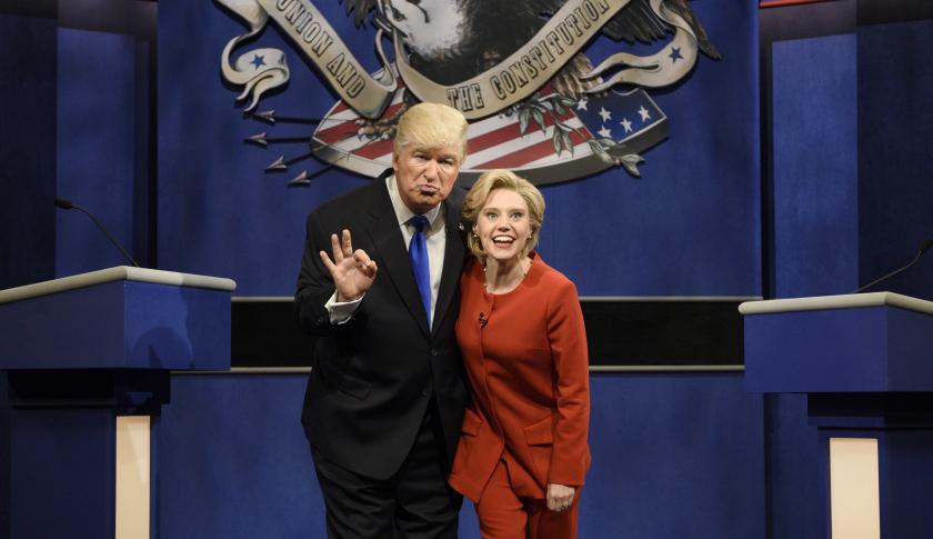 Alec Baldwin plays Donald Trump on SNL
